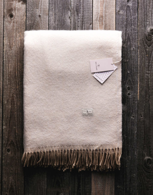 Red Lychee Ford Wool Blanket