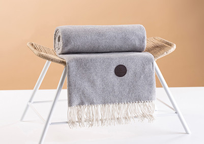 Cashmere Blanket Red Lychee Lincoln