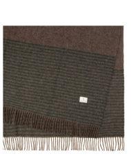Red Lychee Folger Brown Wool Blanket